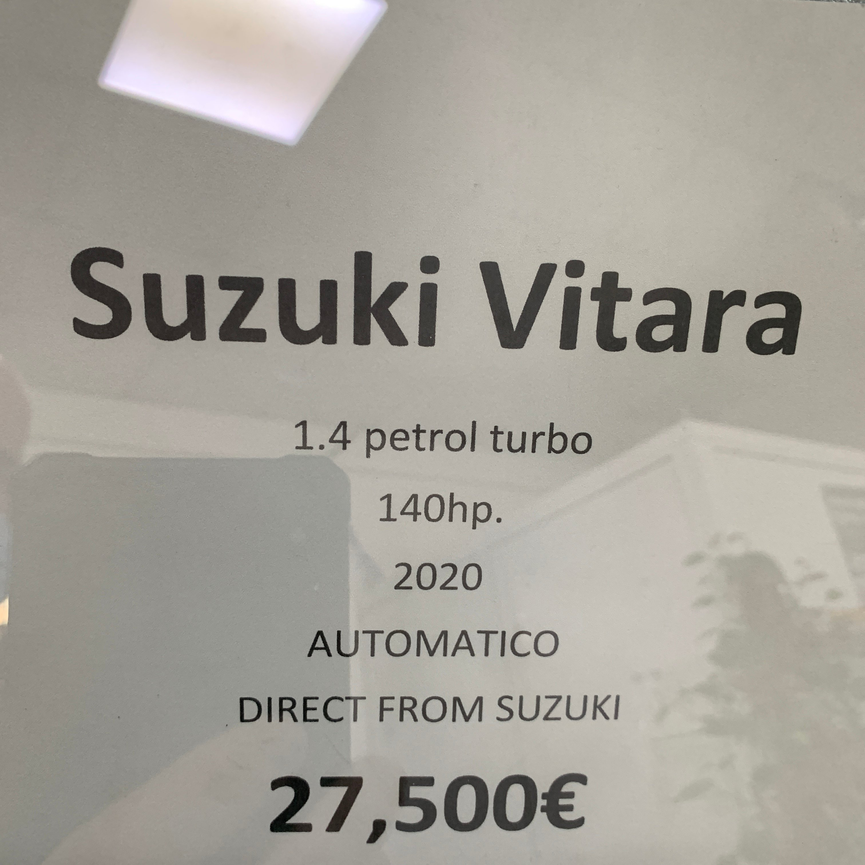 New Unregistered Suzuki Vitara